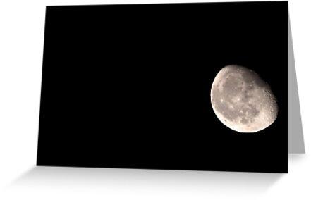 Moony moon. by Janne Keinänen