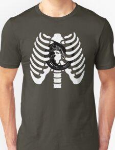 Alien Chest Burster Rib Cage Design T-Shirt