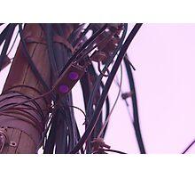 Tel Aviv wires Photographic Print