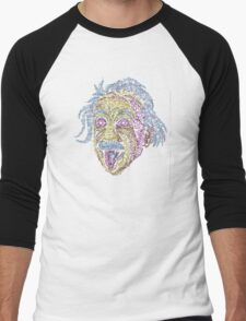 Acid Scientist tongue out psychedelic fluorescent T-Shirt