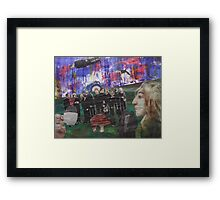 The Tea Party/You're Very Late Framed Print
