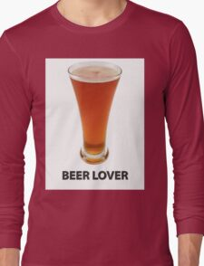Beer Lover Long Sleeve T-Shirt
