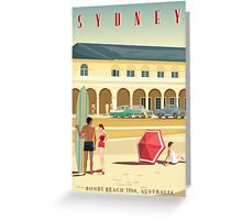 Sydney, Bondi Bathers Pavilion, 1960 Greeting Card
