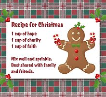 recipe for christmas by vigor