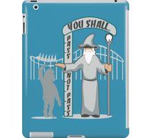 Hobbit at the Roller Coaster iPad Case/Skin