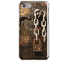 Chain and padlock iPhone-case iPhone Case/Skin