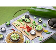 Guacamole Time Photographic Print