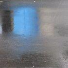 Rainy Day Asphalt and Blue by Jane Underwood