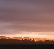 Dawn breaks over Gorenjska by Ian Middleton