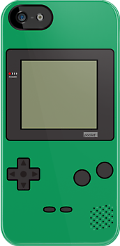 Gameboy Pocket ! (Green) by Venum Spotah
