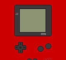 Gameboy Pocket ! (Red) by vxspitter