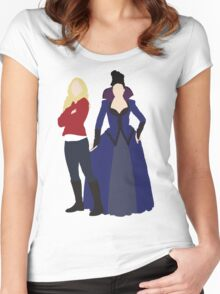 Swan Queen - Once Upon a Time Women's Fitted Scoop T-Shirt
