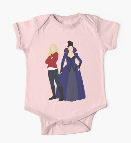 Swan Queen - Once Upon a Time One Piece - Short Sleeve