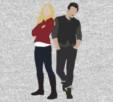 Swanfire - Once Upon a Time One Piece - Long Sleeve