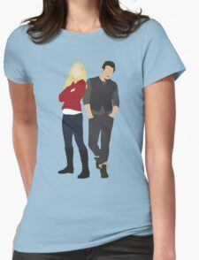 Swanfire - Once Upon a Time Womens Fitted T-Shirt