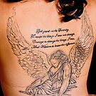 Angels message, tattoo body art prayer by thermosoflask