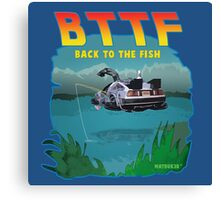 BTTFish Canvas Print