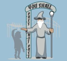 Hobbit at the Roller Coaster One Piece - Short Sleeve