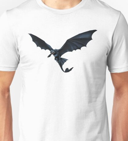 How To Train Your Dragon Toothless Design Unisex T-Shirt