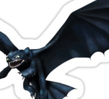 How To Train Your Dragon Toothless Design Sticker