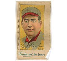 Benjamin K Edwards Collection Roger Bresnahan Chicago Cubs baseball card portrait 001 Poster