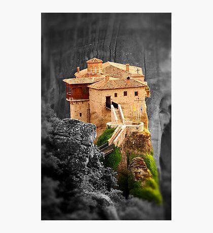 Meteora Mountain Monateries, Greece 3 Photographic Print