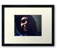 In Da Hood II Framed Print