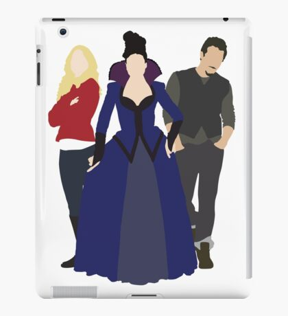 Emma, Regina, and Neal - Once Upon a Time iPad Case/Skin