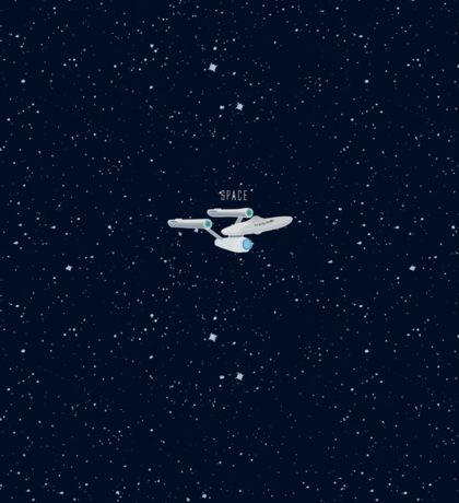 Star trek Star ship NCC-1701 enterprise Sticker