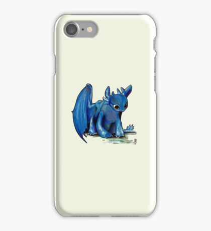 How To Train Your Dragon 'Toothless' by EmegE (Edited) iPhone Case/Skin