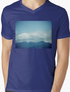 Clouds & Mountains Mens V-Neck T-Shirt