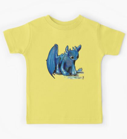 How To Train Your Dragon 'Toothless' by EmegE (Edited) Kids Tee