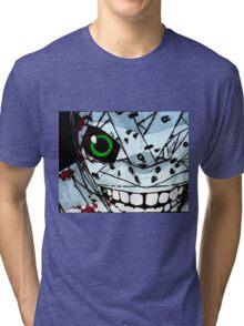 Neon Genesis Evangelion - Bandaged EVA Unit 01 Tri-blend T-Shirt
