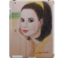 Natalie In Yellow iPad Case/Skin
