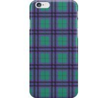 Jade Green and Purple Tartan Plaid Pattern iPhone Case/Skin