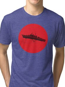 Neon Genesis Evangelion - EVA Unit 02 (Boat Lift) Tri-blend T-Shirt