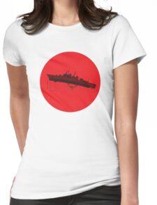 Neon Genesis Evangelion - EVA Unit 02 (Boat Lift) Womens Fitted T-Shirt
