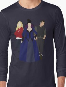 Emma, Regina, and Neal - Once Upon a Time Long Sleeve T-Shirt