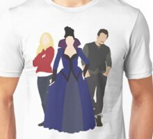 Emma, Regina, and Neal - Once Upon a Time Unisex T-Shirt