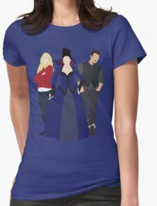 Emma, Regina, and Neal - Once Upon a Time Womens Fitted T-Shirt