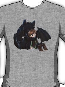 How To Train Your Dragon Manga Design T-Shirt