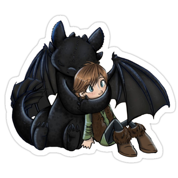 How To Train Your Dragon Manga Design by Geckoface
