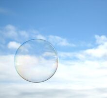 Bubble and Clouds by Bami