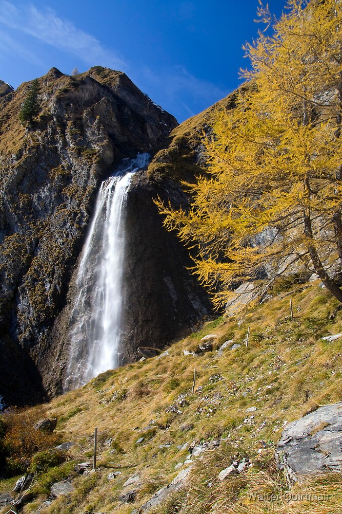 Fall Falls by Walter Quirtmair