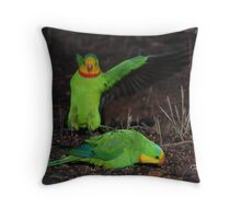 The Carnage Continues Throw Pillow