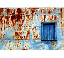 Montreal - Corrosion. Photographic Print