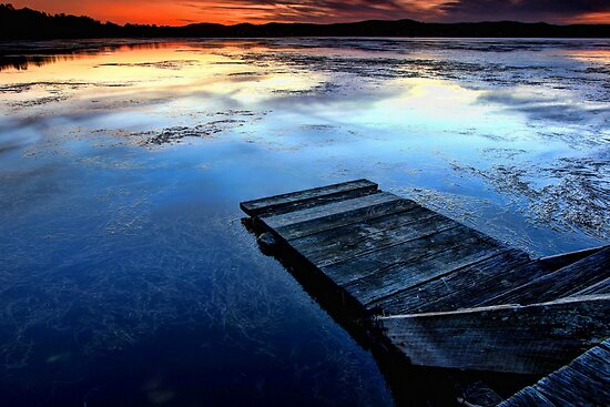 Sit back, relax & watch - Long Jetty by Arfan Habib