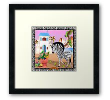 Guarding of the Domain by Ro London - Menagerie Collection Framed Print