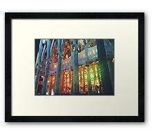 La Sagrada Familia  Framed Print