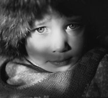 Eyes in Chiaroscuro by ivDAnu
